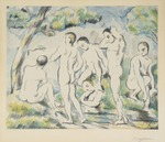 Les Baigneurs. The Bathers. Small Version.