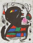 Composition for Miró Lithographe III, No 5