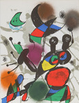 Composition for Miró Lithographe III, No 2