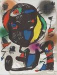 Composition for Miró Lithographe IV, No 5