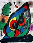 Composition for Miró Lithographe IV, No 1