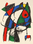 Composition for Miró Lithographe II, No 1