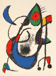 Composition for Miró Lithographe II, No 11. 1975