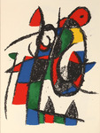 Composition for Miró Lithographe II, No 2