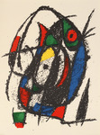 Composition for Miró Lithographe II, No 4
