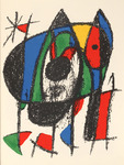 Composition for Miró Lithographe II, No 5