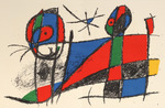 Composition for Miró Lithographe II, No 6
