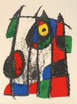 Composition for Miró Lithographe II, No 7