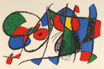 Composition for Miró Lithographe II, No 8