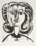 Tête de Jeune Fille. Head of a Girl. 1945.