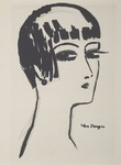 Les Cheveux Courts. Hair in a Bob. 1924.