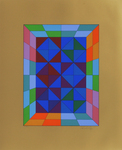 Kapolna - Réponses à Vasarely. Replies to Vasarely. 1973.