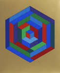Sin-Hat-A - Réponses à Vasarely. Replies to Vasarely. 1972.